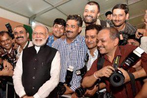 Modi and Media 1 PTI