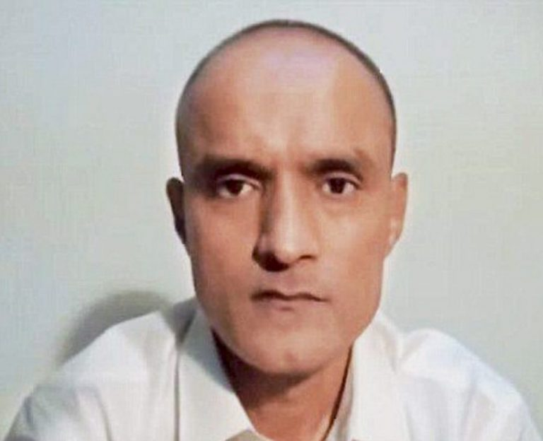 New Delhi: File photo of former Indian naval officer Kulbhushan Jadhav who is on death row in Pakistan on charges of 'espionage'. International Court of Justice has asked Pakistan to stay his death sentence. PTI Photo (PTI5_10_2017_000220B)