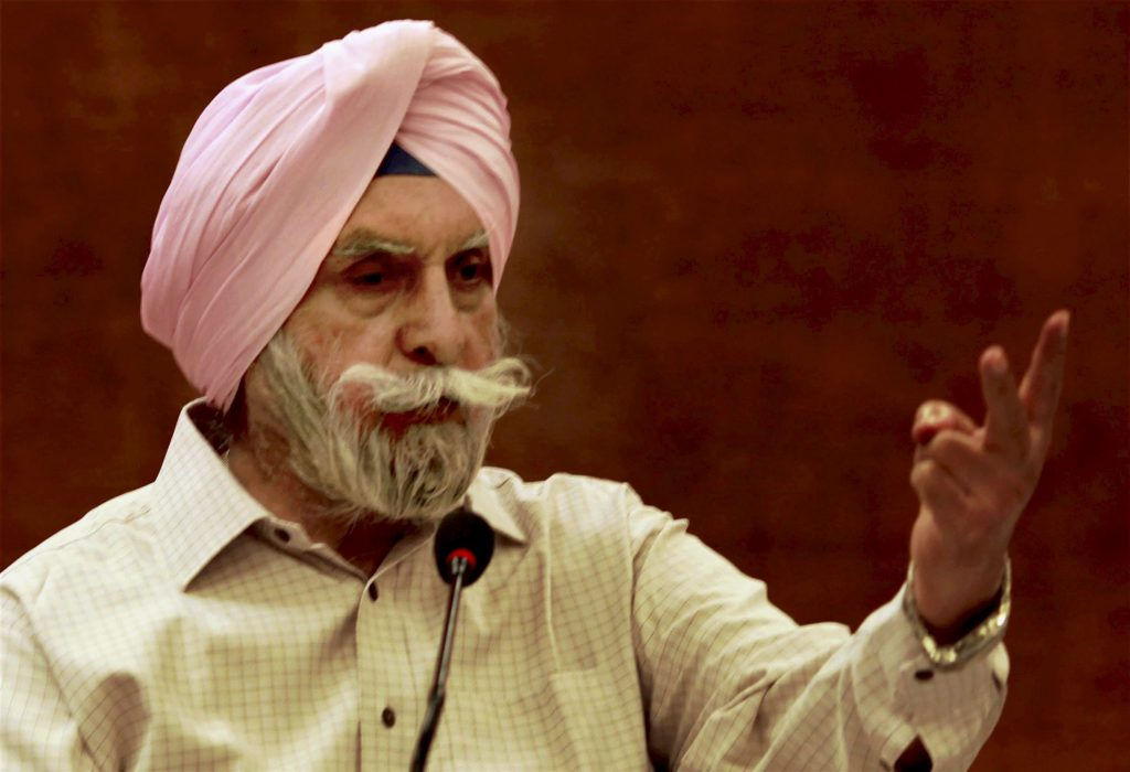 New Delhi: File photo of former Punjab DGP KPS Gill who passed away at a hospital in New Delhi on Friday. He was 82. PTI Photo by Atul Yadav (PTI5_26_2017_000087A)