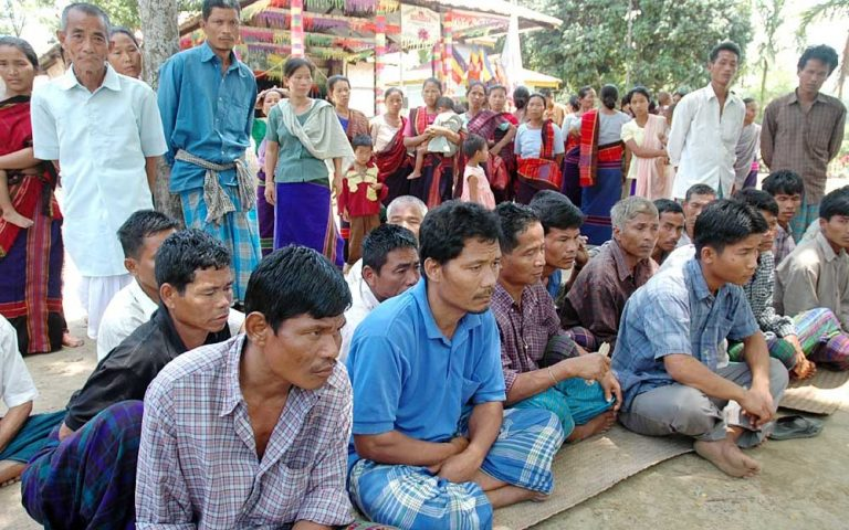 chakma-refugees-attending-a-Buddha-puja-in-Arunachal