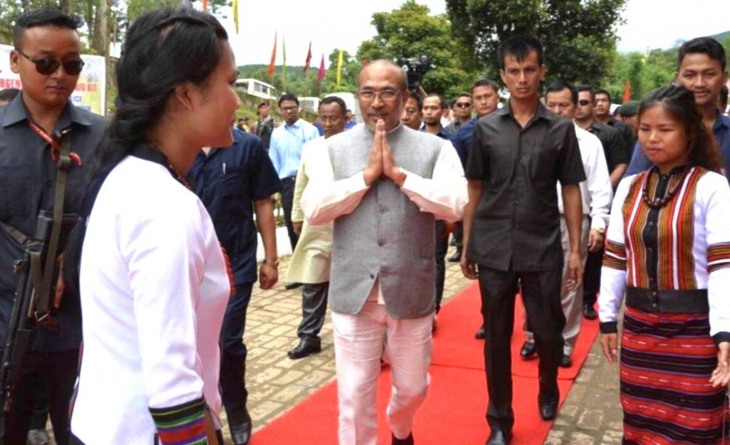 Manipur-chief-minister-N-Biren-Singh-in-Churachandpur-Photo-twitter-1