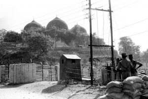 Ayodhya Babri Masjid PTI