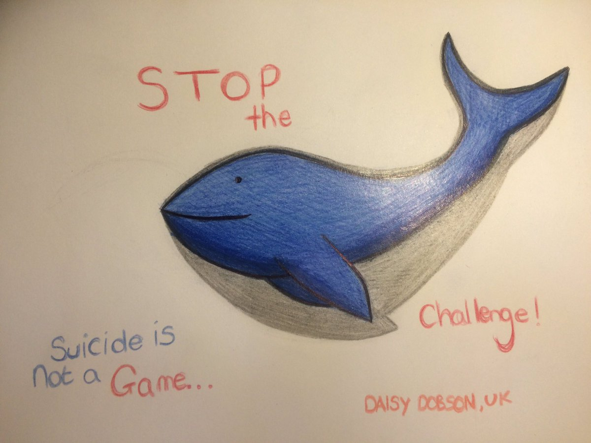 Blue Whale Game Daisy Dobson