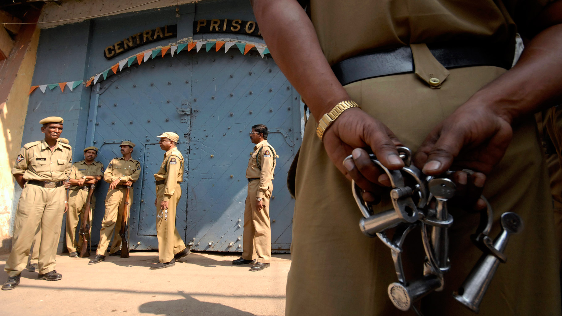 Jail India Police Reuters