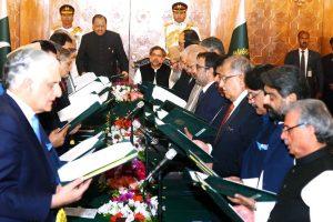 pakistan cabinet Photo By Dawn