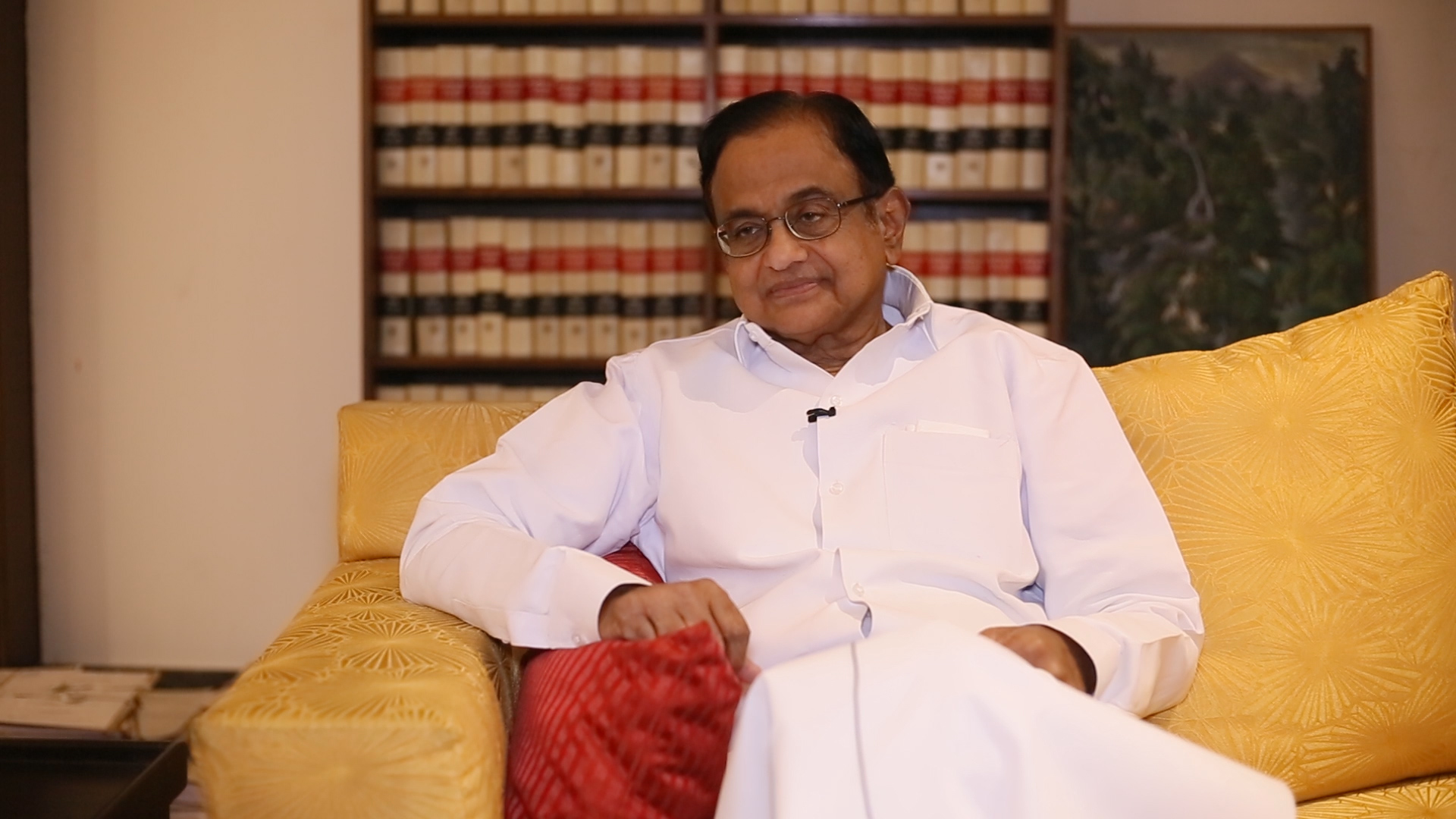 Chidambaram Photo by The Wire