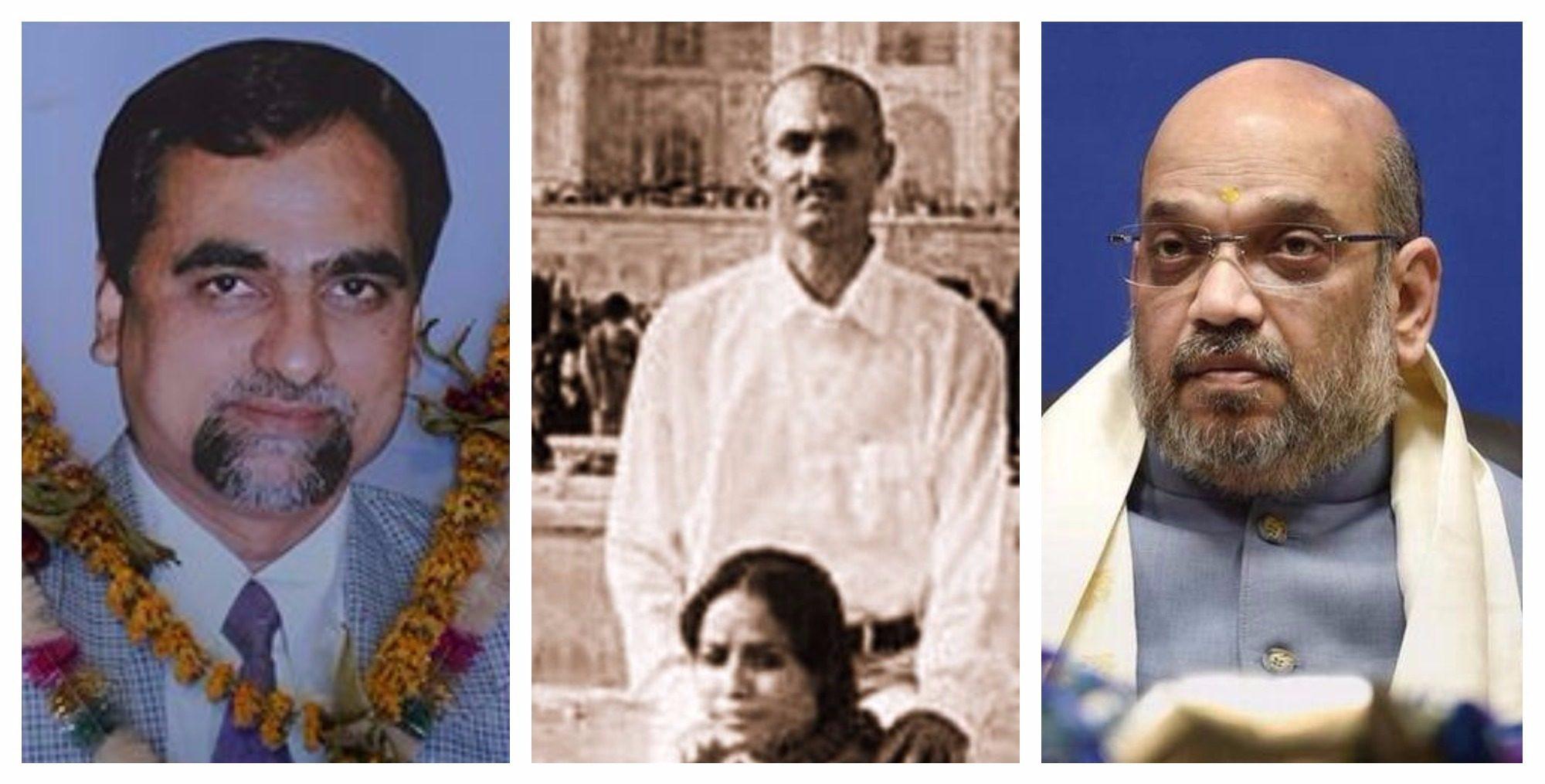 सीबीआई जज बृजगोपाल लोया, सोहराबुद्दीन और कौसर बी, अमित शाह (फोटो साभार: द कारवां/फेसबुक/पीटीआई)