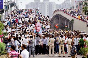 Gujarat Patidar Youth Rally PTI