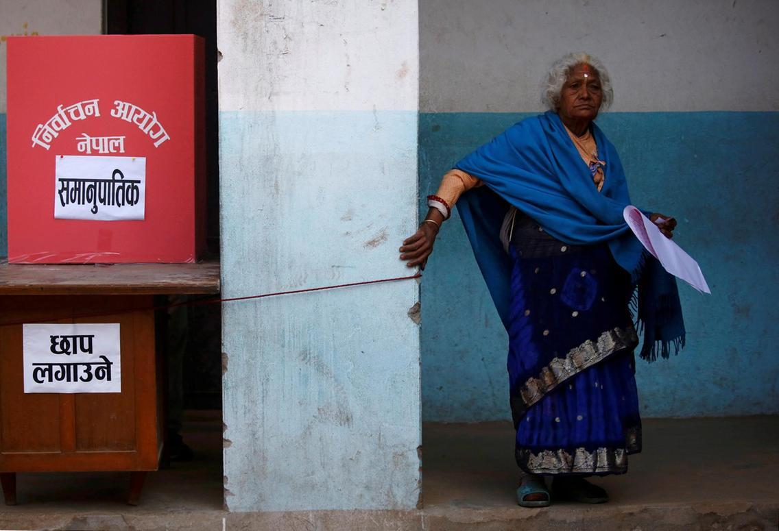 NEPAL PARLIAMENTORY ELECTION Reuters