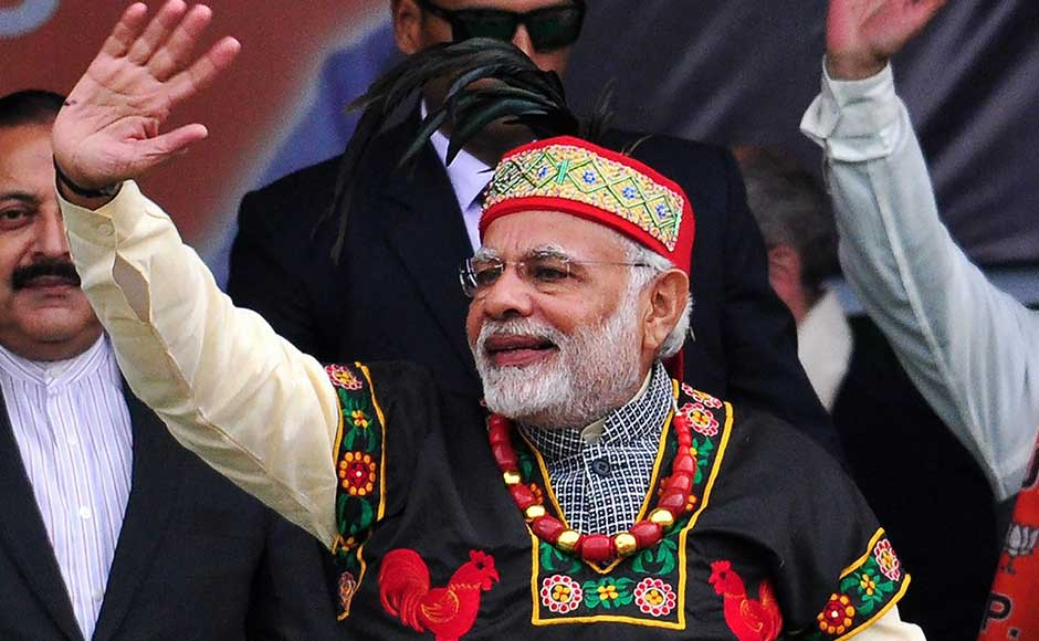 Prime Minister Narendra Modi inaugurated crucial connectivity and power projects in Mizoram and Meghalaya to accelerate development in the northeastern states, a focus area of his government's Act East Policy. PTI