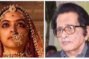फिल्म पद्मावती का पोस्टर और वरिष्ठ अभिनेता मनोज कुमार. (फोटो साभार: फेसबुक/विकिमीडिया)