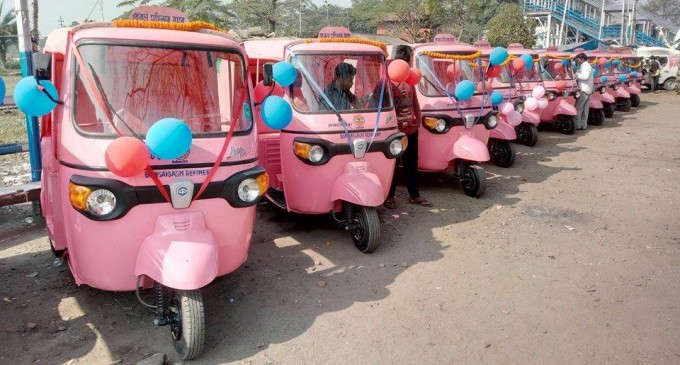 Pink-Auto Assam Northeast today