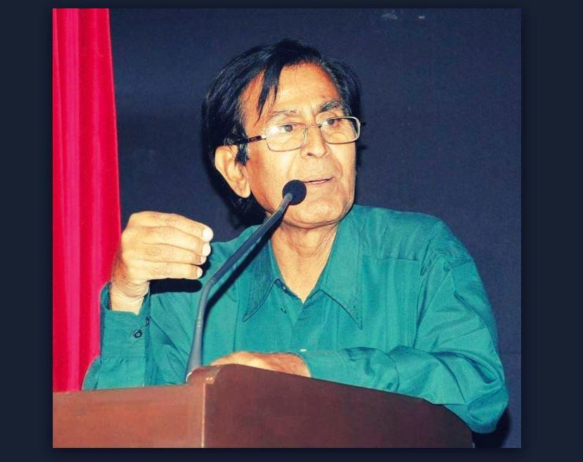 ओम प्रकाश वाल्मीकि (फोटो साभार: यूट्यूब/राउंड टेबल इंडिया)
