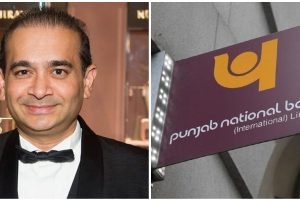हीरा कारोबारी नीरव मोदी और पंजाब नेशनल बैंक. (फोटो साभार: फेसबुक/रॉयटर्स)
