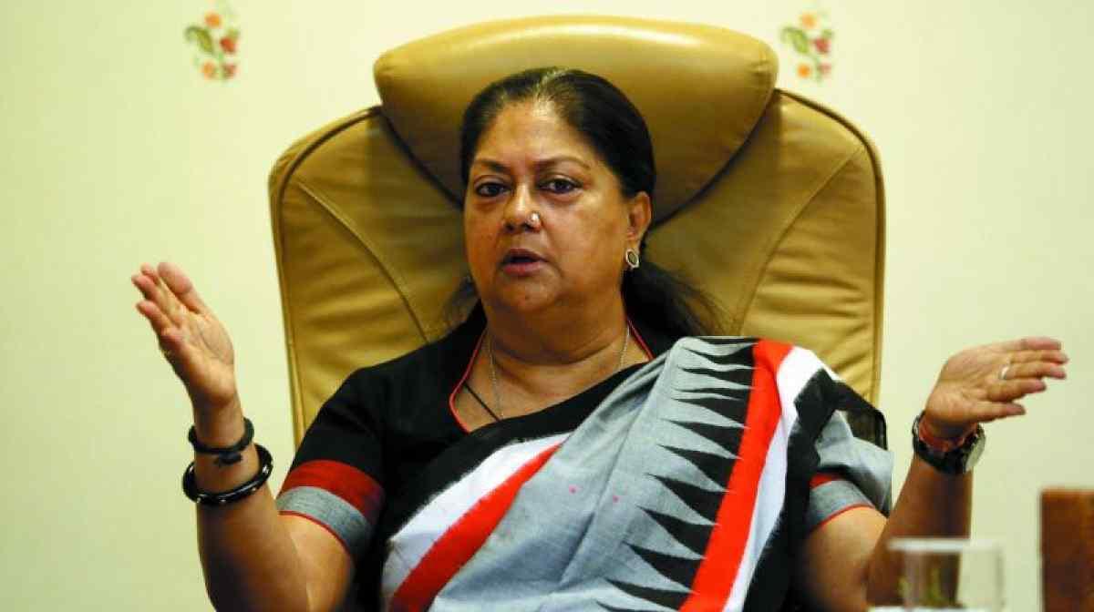 राजस्थान की मुख्यमंत्री वसुंधरा राजे. (फोटो: पीटीआई)