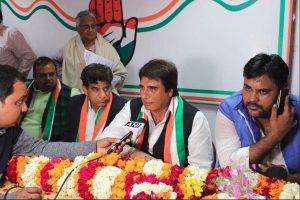 उत्तर प्रदेश कांग्रेस के अध्यक्ष राज बब्बर. (फोटो साभार: यूपी कांग्रेस/ट्विटर)