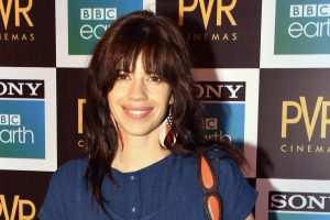 Mumbai: Bollywood actress Kalki Koechlin at the first ever Blue Carpet theatrical screening in India of 'Blue Planet II' by Sony BBC Earth, in Mumbai on Tuesday. (PTI Photo) (PTI5_16_2018_000052B)