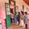 Mangaluru: Voters stand in a queue to cast their votes for Karnataka Assembly election 2018 at a polling station in Mangaluru on Saturday. PTI Photo (PTI5_12_2018_000029B)