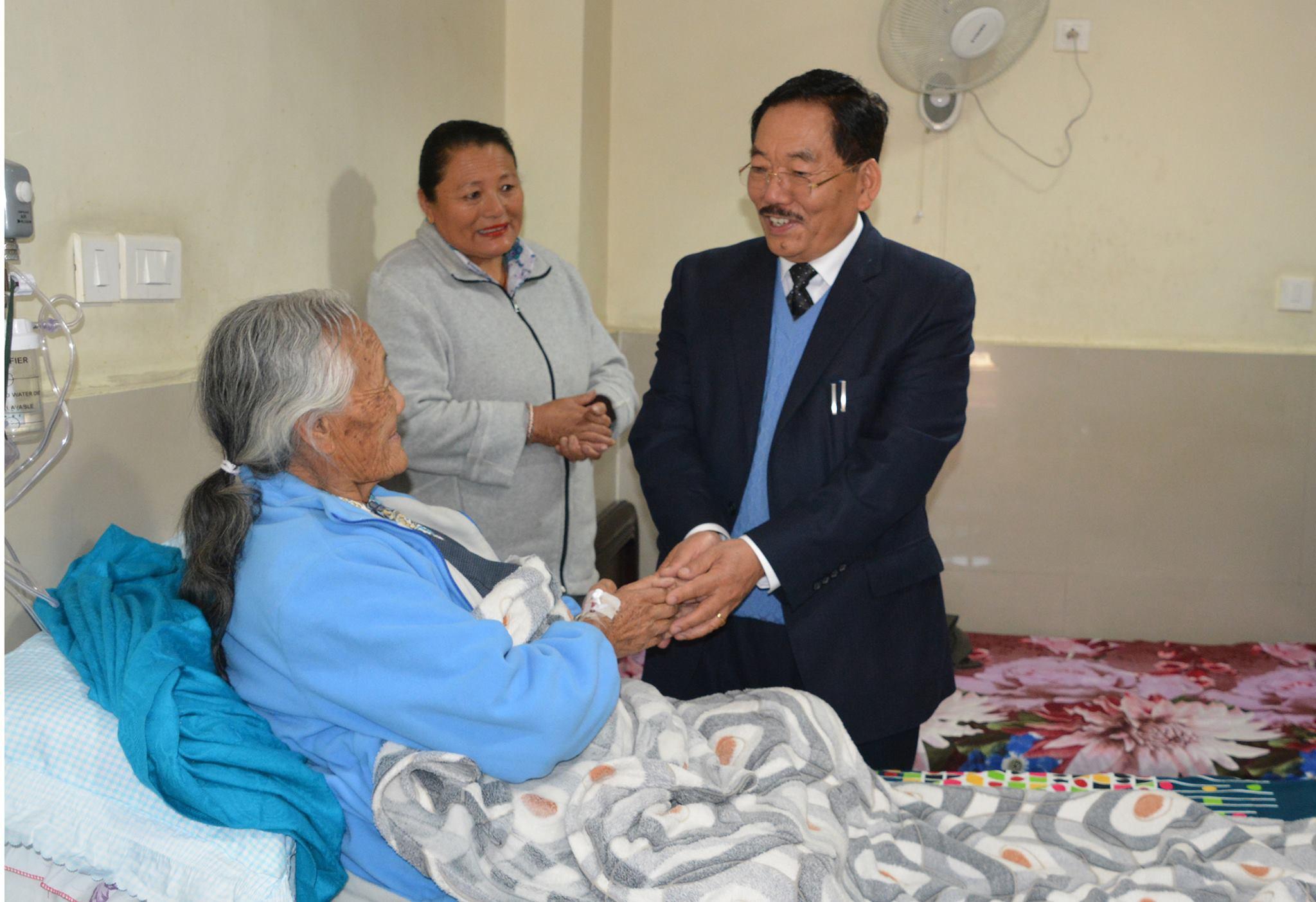 सिक्किम के मुख्यमंत्री पवन कुमार चामलिंग. (फोटो साभार: फेसबुक)