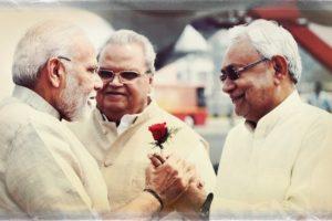 नरेंद्र मोदी और नीतीश कुमार. (फोटो: पीटीआई)