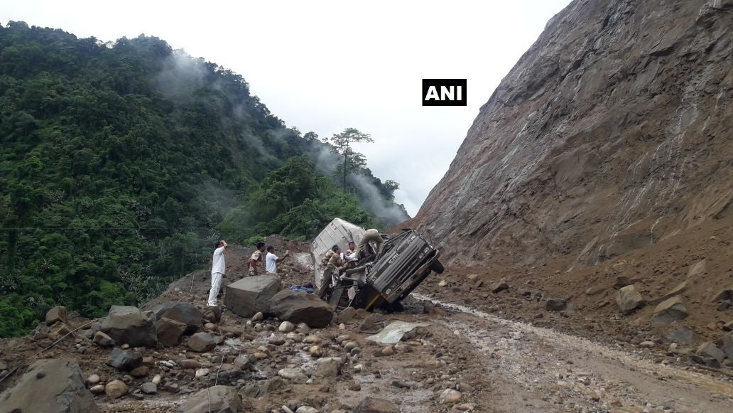 Arunachal Land Slide ANI