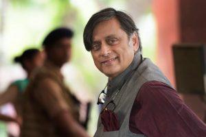 New Delhi: Congress MP Shashi Tharoor arrives to attend the Monsoon Session of Parliament, in New Delhi on Thursday, July 19, 2018. (PTI Photo/Vijay Verma) (PTI7_19_2018_000037B)