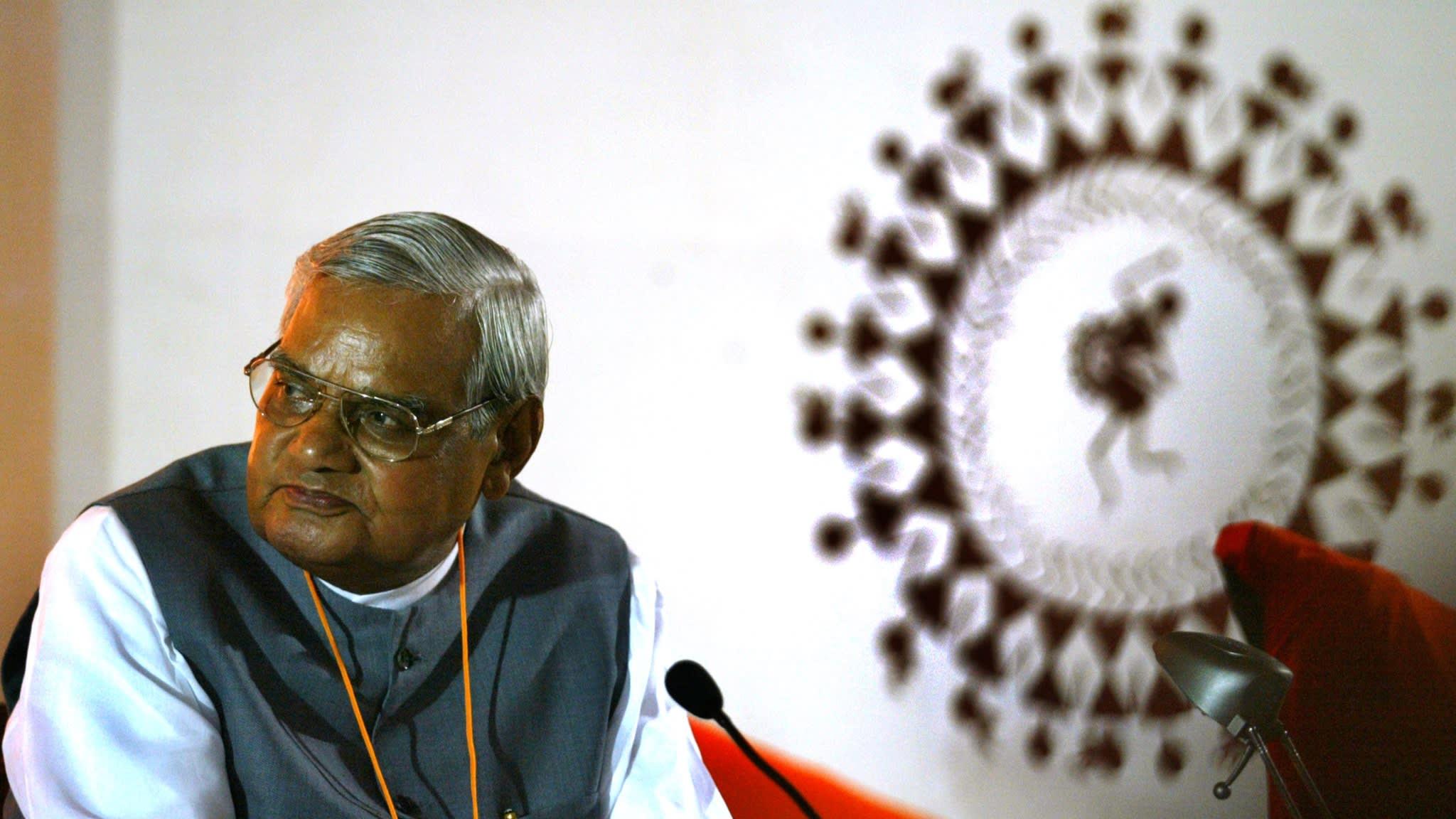 Atal Bihari Vajpayee Reuters Files