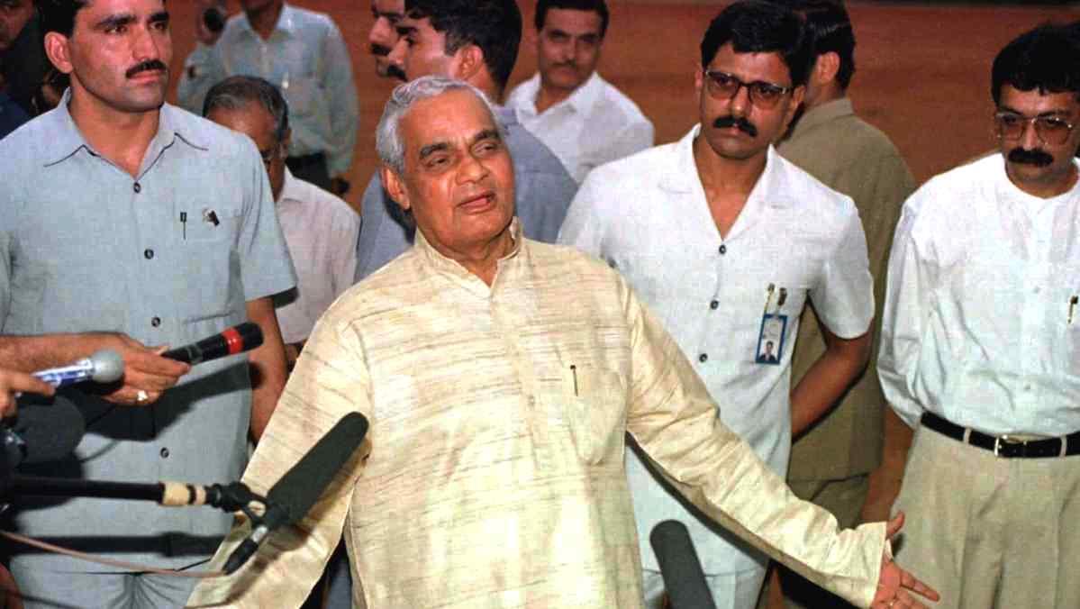 पूर्व प्रधानमंत्री अटल बिहारी वाजपेयी. (फोटो: रॉयटर्स)