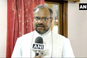 बलात्कार के आरोपी बिशप फ्रैंको मुलक्कल. (फोटो साभार: एएनआई)
