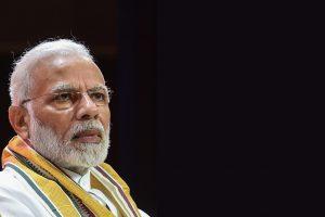 Prime Minister Narendra Modi during BJP National Executive Meet, in New Delhi, Saturday, Sept 8, 2018. (PTI Photo/Atul Yadav)