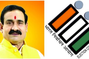 मध्य प्रदेश सरकार में मंत्री नरोत्तम मिश्रा. (फोटो साभार: फेसबुक/विकिपीडिया)