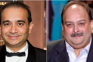 नीरव मोदी और मेहुल चोकसी. (फोटो साभार: फेसबुक/ट्विटर)