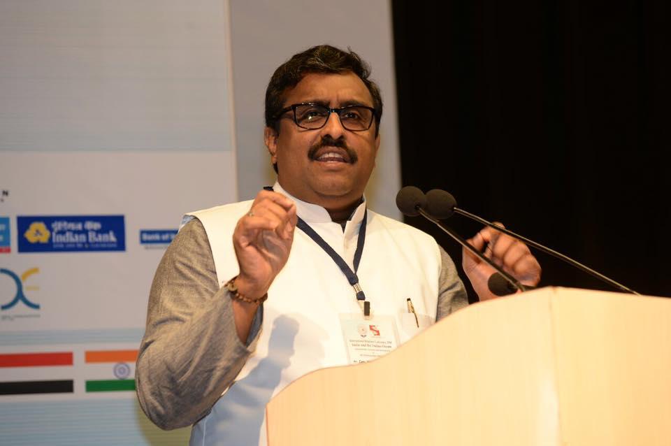 भाजपा महासचिव राम माधव (फोटो साभार: फेसबुक/राम माधव)