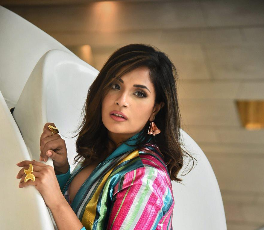 New Delhi: Bollywood actor Richa Chaddha poses for a photograph during a promotion of her upcoming film 'Love Sonia', in New Delhi, Thursday, Sept 13, 2018. (PTI Photo) (PTI9_13_2018_000108B)