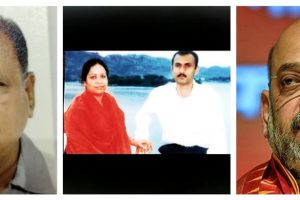गुजरात पुलिस के पूर्व इंस्पेक्टर वीएस सोलंकी, सोहराबुद्दीन शेख और कौसर बी और अमित शाह