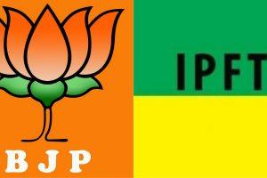 Tripura BJP IPFT