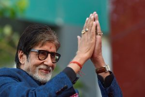 New Delhi: Bollywood actor Amitabh Bachchan during an event in New Delhi, Friday, Sept 28, 2018. (PTI Photo/Ravi Choudhary) (PTI9_28_2018_000124B)