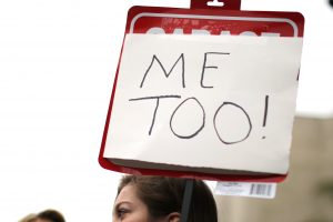 "People participate in a ""MeToo"" protest march for survivors of sexual assault and their supporters in Hollywood, California last Noember. Less than four months after the #MeToo movement inspired a national conversation about sexual misconduct and led to the downfall of dozens of powerful American men, a backlash seems to be underway. File/Lucy Nicholson, Reuters"