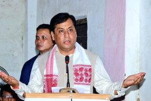 असम के मुख्यमंत्री सर्बानंद सोनोवाल. (फोटो साभार: फेसबुक/Sarbananda Sonowal)