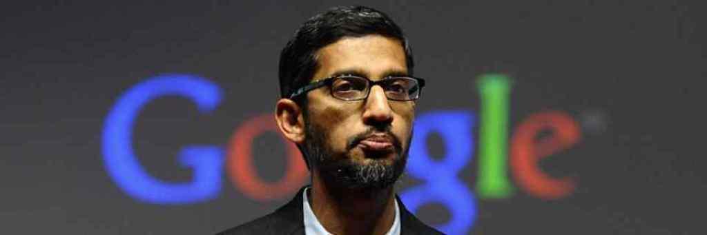 गूूगल के सीईओ सुंदर पिचई. (फोटो: रॉयटर्स)