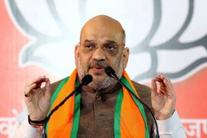 Jaipur: BJP President Amit Shah addresses a press conference, in Jaipur, Wednesday, Dec. 05, 2018. (PTI Photo)(PTI12_5_2018_000035B)