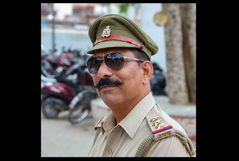 New Delhi: An undated photo of Police Inspector Subodh Kumar Singh. According to the officials, Kumar who was posted at the Syana Police Station died in the violence after a mob went on a rampage torching a police post and clashes with police in Bulandshahr on Dec. 03, 2018. (PTI Photo)(PTI12_3_2018_000177B)