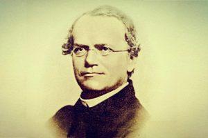ग्रेगर जॉन मेंडल. (फोटो साभार: www.tes.com)