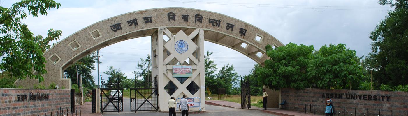 असम विश्वविद्यालय (फोटो साभार: picswe.com)