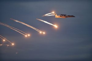 Pokhran: Fire Power Demonstration (FPD) of Indian Air Force (IAF) fighter plane during the 'VAYU SHAKTI-2019' at Pokhran, Rajasthan, Saturday, Feb 16, 2019. (PTI Photo/Manvender Vashist)(PTI2_16_2019_000150B)
