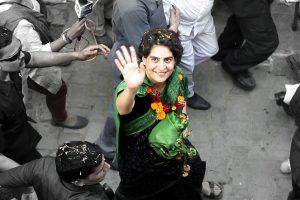 Priyanka Gandhi election campaigning PTI