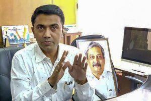 गोवा के नए मुख्यमंत्री प्रमोद सावंत (फोटो: पीटीआई)