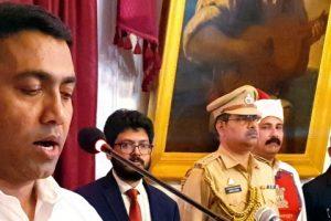 सोमवार देर रात भाजपा नेता और विधानसभा अध्यक्ष प्रमोद सावंत गोवा के नए मुख्यमंत्री चुने गए. (फोटो: पीटीआई)