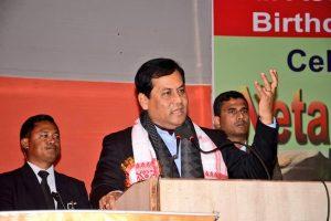 असम के मुख्यमंत्री सर्बानंद सोनोवाल. (फोटो: फेसबुक/@SarbanandaSonowal)