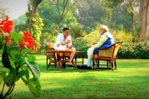 Akshay Kumar PM Modi Interview Photo YouTube BJP